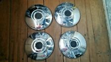 chrome hubcaps of the wheels of the Lada 2103 2106 2101 2102. USSR. set 4pcs