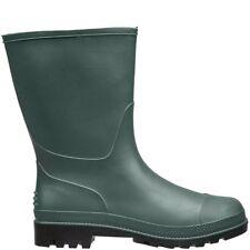 UK Kids Size 8 #13L383 Briers Kids Bright Green Rubber Wellington Boots