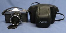 KOWA seT 35mm SLR FIlm Camera w/Kowa 50mm f/1.8 Prime Lens & Case ~ READ!