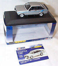 VANGUARDS FORD ESCORT MK2 1.6 HARRIER in Strato Silver VA12611 ltd ed