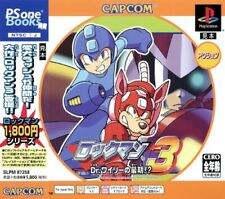 Rockman 3 PSOne Books (2003) New Factory Sealed Japan Playstation PS1 Import