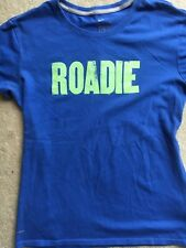 "Nike girls Dri Fit Tshirt Usa Track ""Roadie� Design Size M Blue"