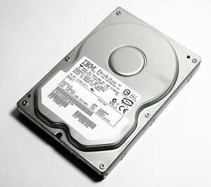 40GB Ide Ata IBM Internal Hard Drive 2MB Puffer UDMA-100