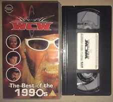 WCW The Best Of The 1990s (VHS, 2001) (PAL) NWO WWF WWE NWA WCW MAGAZINE RARE