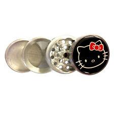 Hello Kitty 4 Piece Grinder Herb Spice Tobacco Metal Aluminum Grinder G4