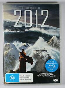 2012 Two Thousand Twelve DVD FREE POST
