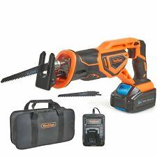 Workshop power tool Cordless Reciprocating Saw cutting Li-ion 20V MAX Battery UK