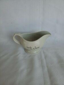Pfaltzgraff Heirloom Gravy Server #436 Dove Grey Pitcher White Flowers