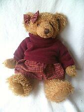Russ Teddybär Teddymädchen  Maud mit Kleidung  35 cm