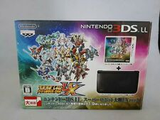 Nintendo 3DS LL Super Robot Taisen UX Pack System Console Japanese limited