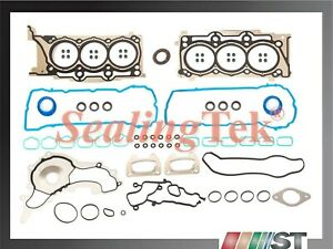 Fit 11-16 Chrysler Dodge Jeep Ram 3.6L Pentastar Engine Cylinder Head Gasket Set