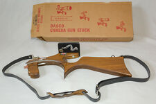 Vintage Dasco Trigomatic Gunstock (Gun Stock) Camera Stabilizer Mount w/ Box