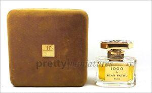 ღ 1000 - Jean Patou - Kleinfactice 7cm mit Flüssigkeit