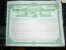 1920 Elder Dempster and Company Limited, Share Certificate, 300 Shares