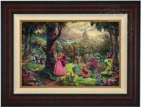 Thomas Kinkade Sleeping Beauty 18x27 Artist Proof A/P Limited Disney Canvas