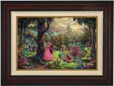 Thomas Kinkade Sleeping Beauty 18x27 Artist Proof A/P Limited Disney Canvas