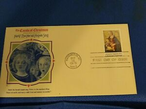 Scott #1579 10 Cent Stamp Honoring Christmas First Day Issue