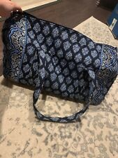 Vera Bradley Large Duffel Travel Bag GREAT CONDITION