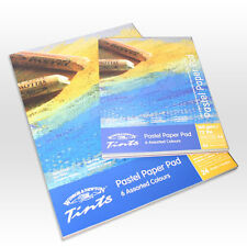 Winsor & Newton Tints Pastel Paper Pad A4 - 6 Assorted Colours 24 Sheets