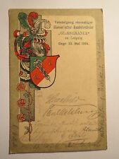 Lipsia-Vegh glaeserania - 1909/Studentika