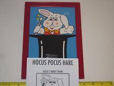 Hocus Pocus Hare Children's Magic Trick - Kids Comedy, Stage, Daycares, MC Bit