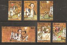 Australia # 477-482 Used Cook Discovery & Explorations