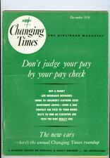 1958 Changing Times Magazine: Don't Judge Your Pay By Your Paycheck/Buy A Farm?