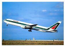 Eurofly/ Alitalia Airlines Postcard Boeing 767-313ER