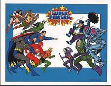DC PRINT - SUPER POWERS - HEROES v VILLAINS
