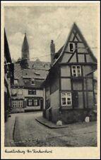 QUEDLINBURG AK ~1940 Häuser Strasse am Finkenherd