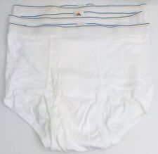 Fruit Of The Loom Men's Xl 42-44 white brief (3 pair) Underwear Nos Oop Vtg New