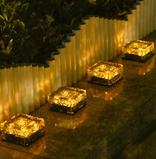 Ice Cube LED Landscape Solar lights Outdoor Garden Lights Solar Pathway Lights
