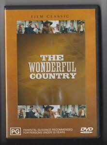 DVD - THE WONDERFUL COUNTRY - Robert Mitchum - Region 4 - * Free Postage *