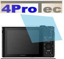 4 x Recubrimiento duro Película protectora de pantalla AR para Sony Cyber-shot