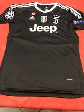 MAGLIA JUVENTUS 1 BUFFON ADIDAS ADIZERO NERA PATCH CHAMPIONS LEAGUE M L XL