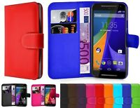 Leather Wallet Book Flip Case For Sony Xperia Experia Phones Book Pouch Cover