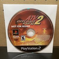 Atv-Offroad Fury 2 (PlayStation 2 PS2) - DISC ONLY -TESTED