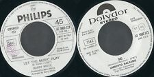 DISCO 45 GIRI     BARRY WHITE / UMBERTO BALSAMO - LET THE MUSIC PLAY / SE...