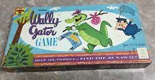 VINTAGE 1962 WALLY GATOR Board Game COMPLETE Hanna Barbera Very Rare Transogram