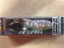 Yo Zuri 3D Crystal Shrimp (TIGER) 90mm Sinking Lure