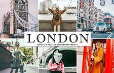 London Mobile & Desktop Lightroom Presets! Delivery in under 6 hours