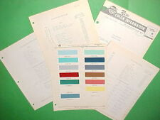 1956 PLYMOUTH BELVEDERE CONVERTIBLE FURY PLAZA SAVOY SPORT SUBURBAN PAINT CHIPS+