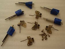 GOTTLIEB ROYAL GUARD 68 PINBALL MACHINE PLAYFIELD BOTTOM 5 ROLL OVER SWITCHES!