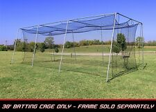 Cimarron CM-302024TP Softball/Baseball Batting Cage Net 30'x12'x10' #24 w/ door