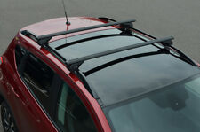 Black Cross Bars For Roof Rails To Fit Audi A6 Avant (1997-04) 100KG Lockable
