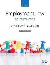 Employment Law: An Introduction by Astra Emir, Stephen Taylor (Paperback, 2015)
