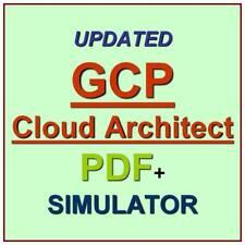 Google Cloud Certified Professional Cloud Architect Test GCP Exam QA PDF+SIM