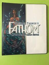 Fathom Top Cow Master Set Card Binder Michael Turner