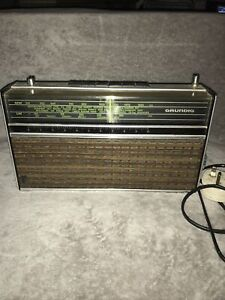 Vintage Grundig Elite Boy 600 Radio, 1970s Working