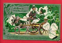 ST PATRICK'S DAY IN THE MORNING BLARNEY  1912 EWING TOLEDO OHIO   POSTCARD
